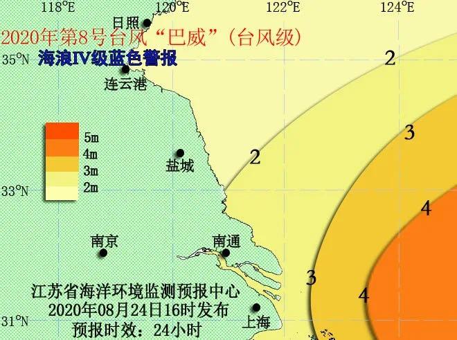 蓝色警报!江苏海域海浪Ⅳ级